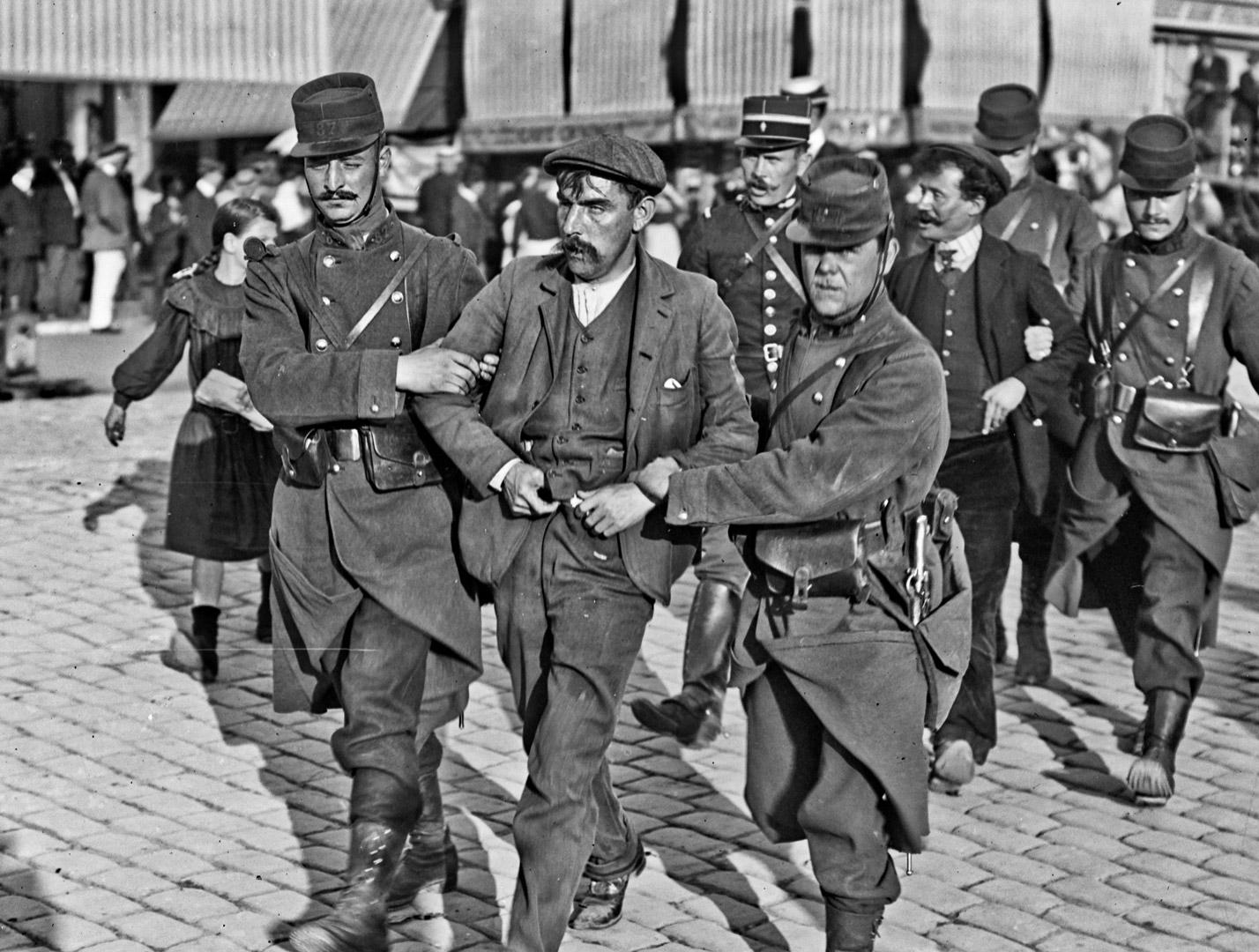 Émeutes à Saint-Quentin en 1911