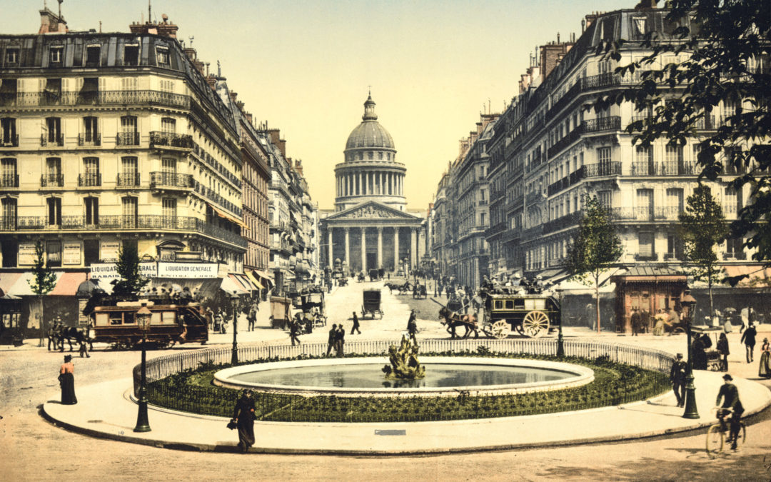 Balade dans Paris vers 1900 en couleurs